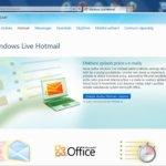 Úvodní stránka po nainstalování Internet Explorer 9 beta