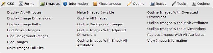Ukázka možností pro obrázky