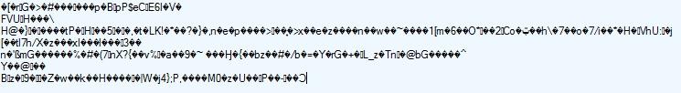 Podoba odeslané HTML stránky se zapnutou kompresí
