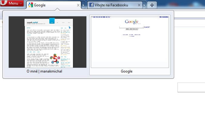 Systém panelů, na který jsme možná všichni čekali - Tab Stacking prohlížeče Opera Browser 11.
