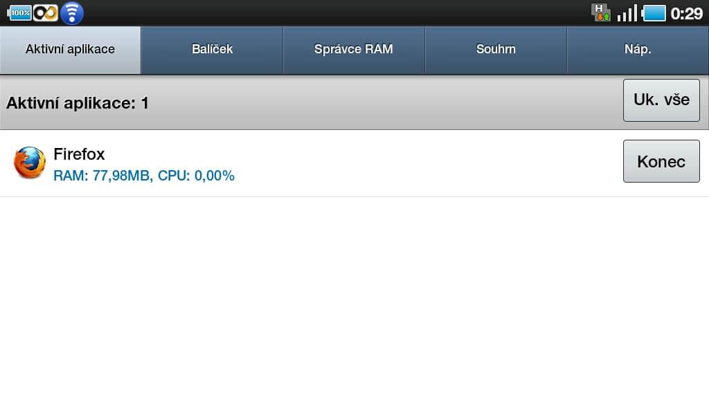 Prohlížeč si v paměti RAM ukousne poměrně slušný kus. Během práce s ním však není takový problém.