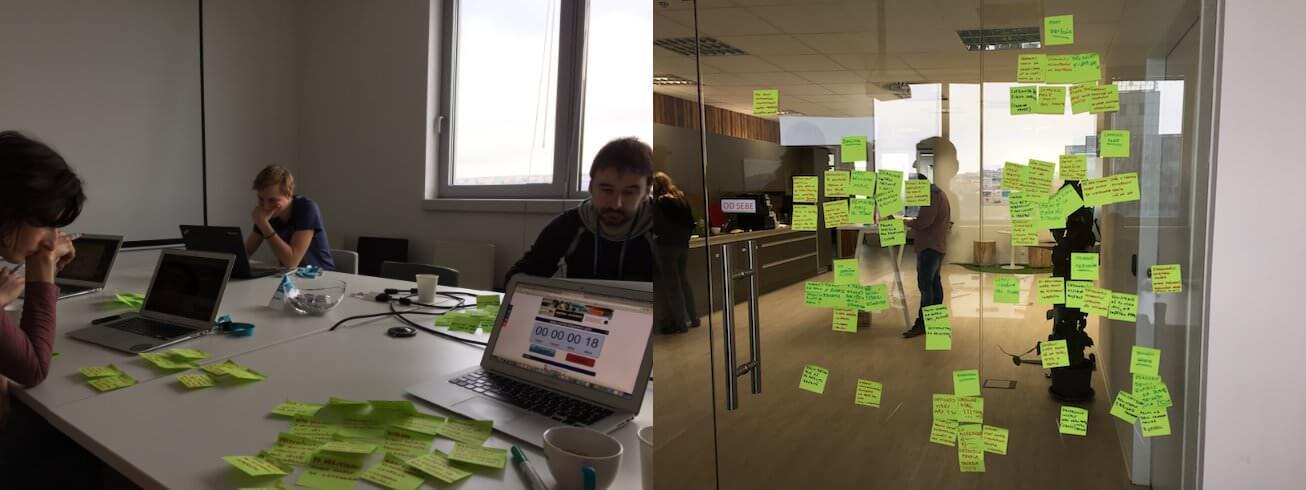 V rámci prvního kvartálu jsme si společně sBusiness Ownerem, Product Managerem aPruduct Marketing Managerem udělali brainstorming ahledali jsme příležitosti, které můžeme zlepšovat.