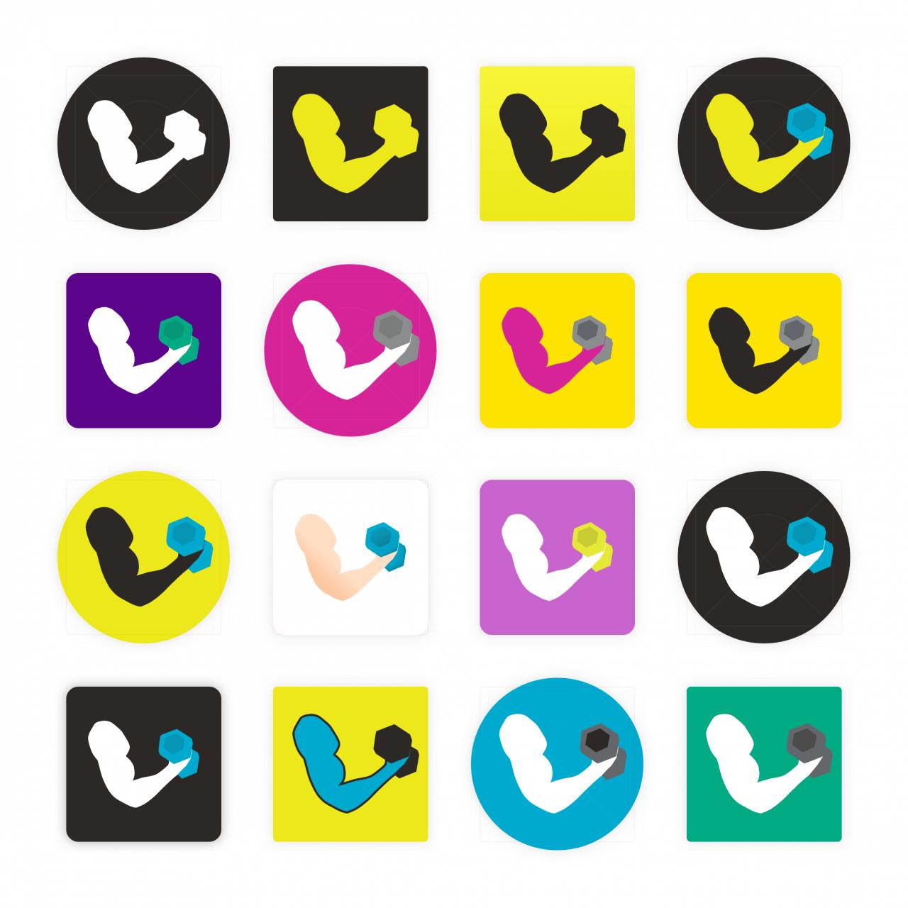 Díky smybolům a barevným stylům ve Sketch mohu snadno a rychle prozkoumat různé barevné kombinace.