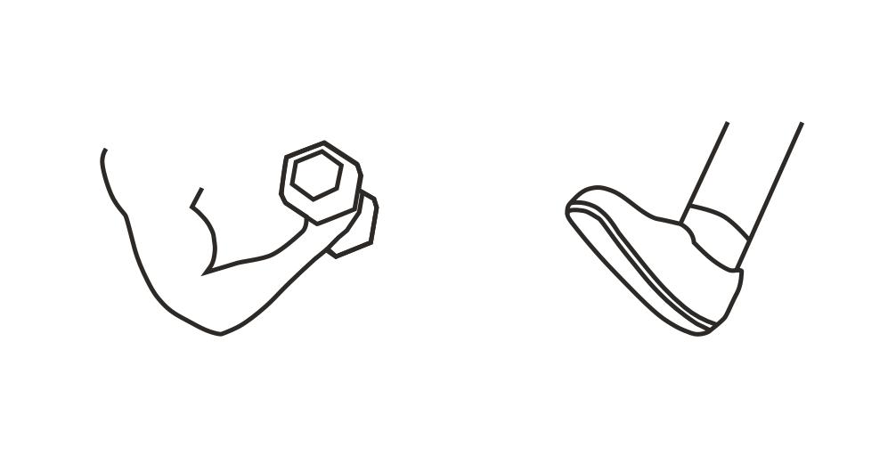Načmárané nápady jsem překreslil do digitální formy pro další zpracování.