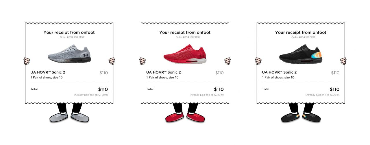 Co kdyby se ilustrace měnila podle toho, jaké boty si člověk zakoupí?