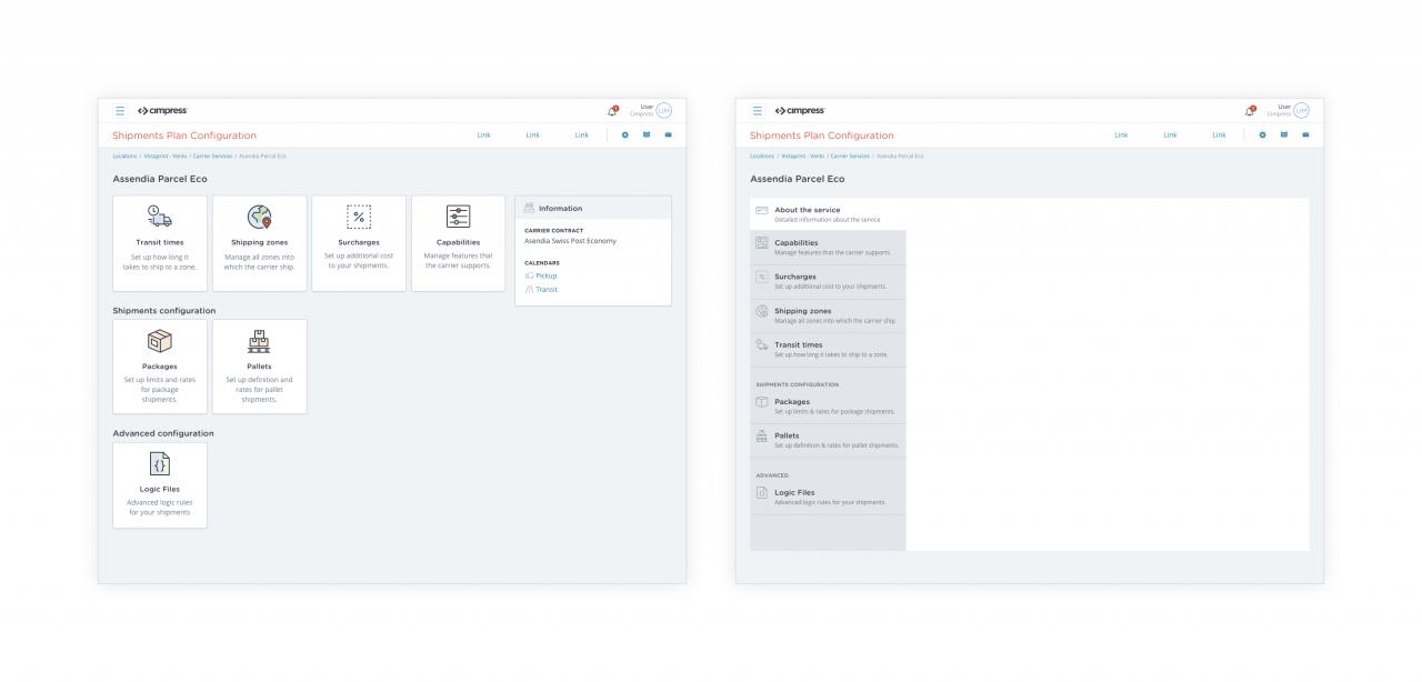 Nápady na to, jak by mohla aplikace vypadat.